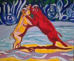 Sulawesi babirusa by Becky Richardson Senisse